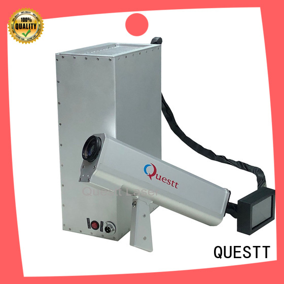 QUESTT Best laser surface cleaning machine in China For Rust Removal
