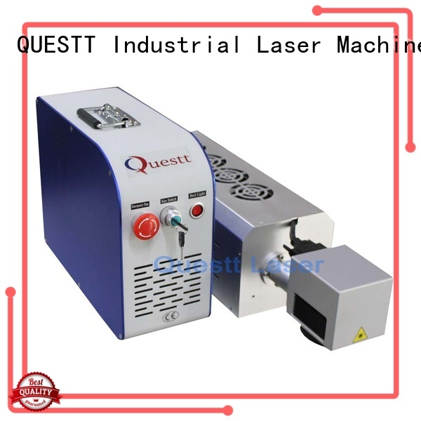 QUESTT co2 laser marking machine price China for industry