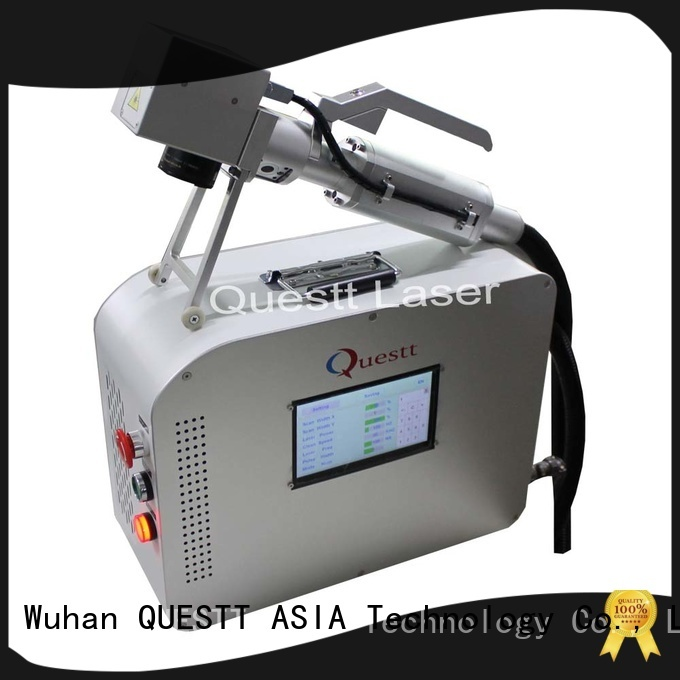 QUESTT laser rust cleaning machine price China For Historic Relics Restoration