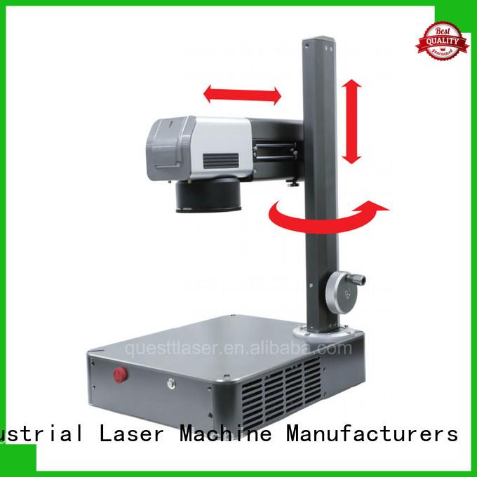 QUESTT fiber laser marking machine supplier custom for support harsh working environment