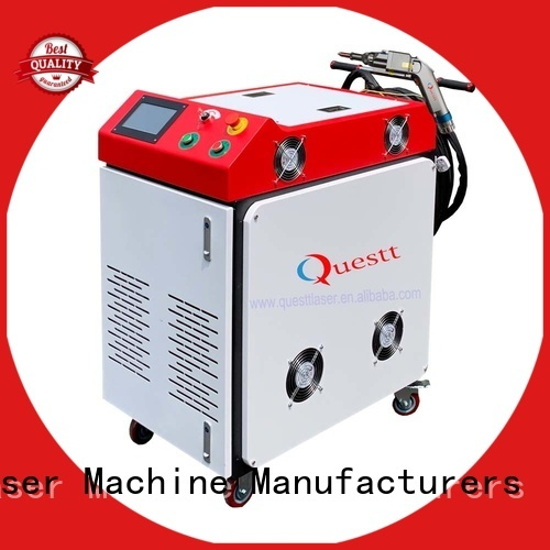 QUESTT Top handheld laser welding machine manufacturer for automobile manufacturing