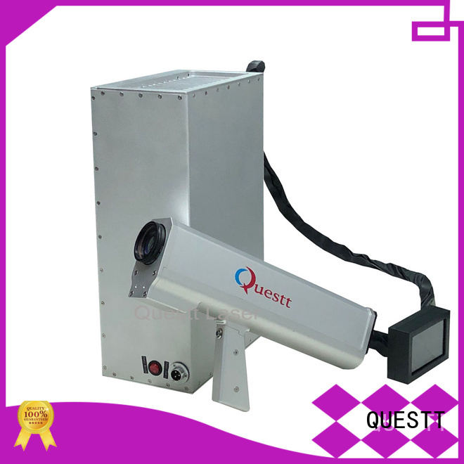 QUESTT Easy to install Backpack Laser Cleaning Machine For Cleaning Rust