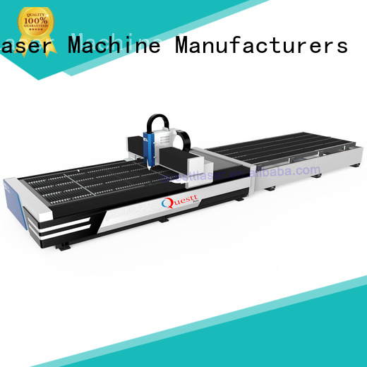 QUESTT high frequency metal laser cutter Chinese producer for laser cutting Process