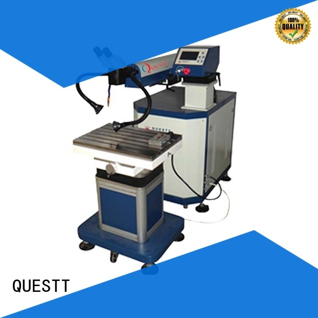 QUESTT quality laser welding machine from China for modification of mould size