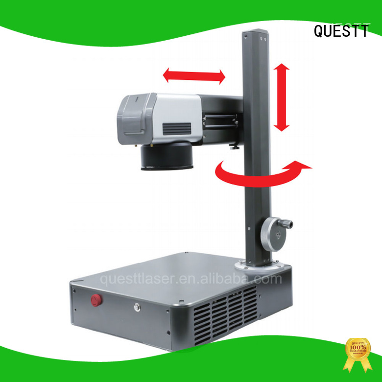 QUESTT buy fiber laser marking machine price for applications labs