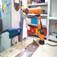Automation Laser Cleaning system with 6 axis Robot